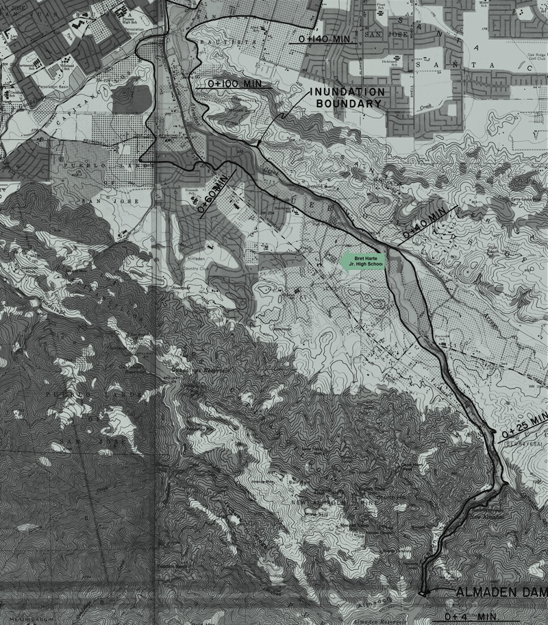 Almaden Dam Inundation Map1973 web color r2