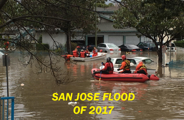 san jose flood 2017